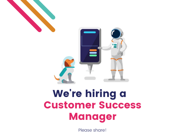 were hiring a customer success manager